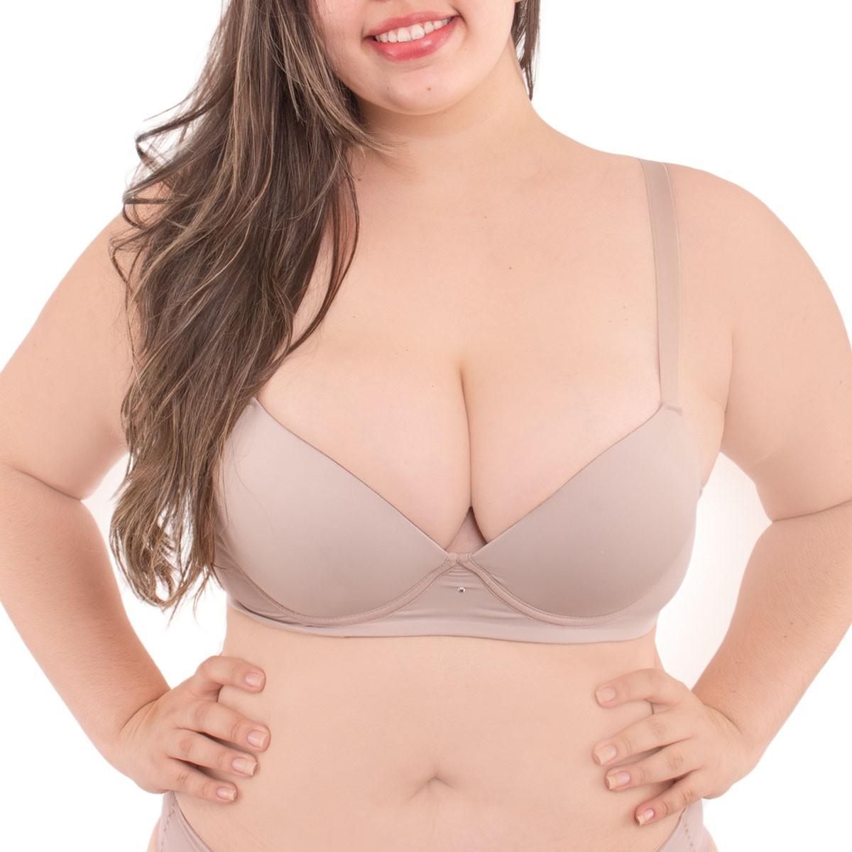 Sutiã bojo plus size reforçado Diva Donna