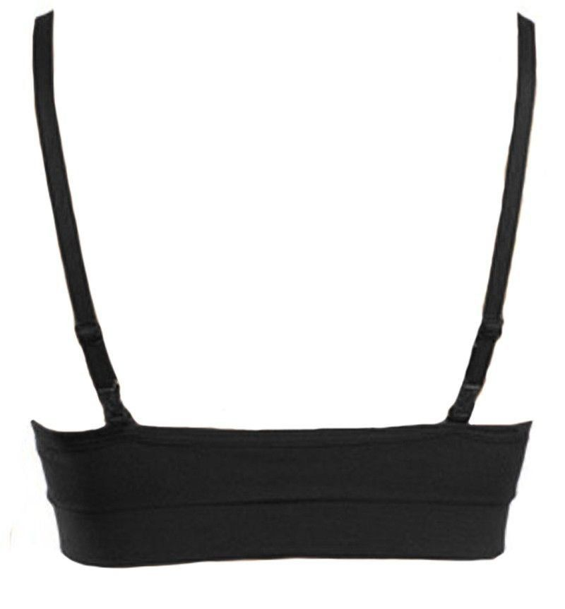 Sutiã bojo removível top sem costura sem aro Lupo Loba ref. 41043 -