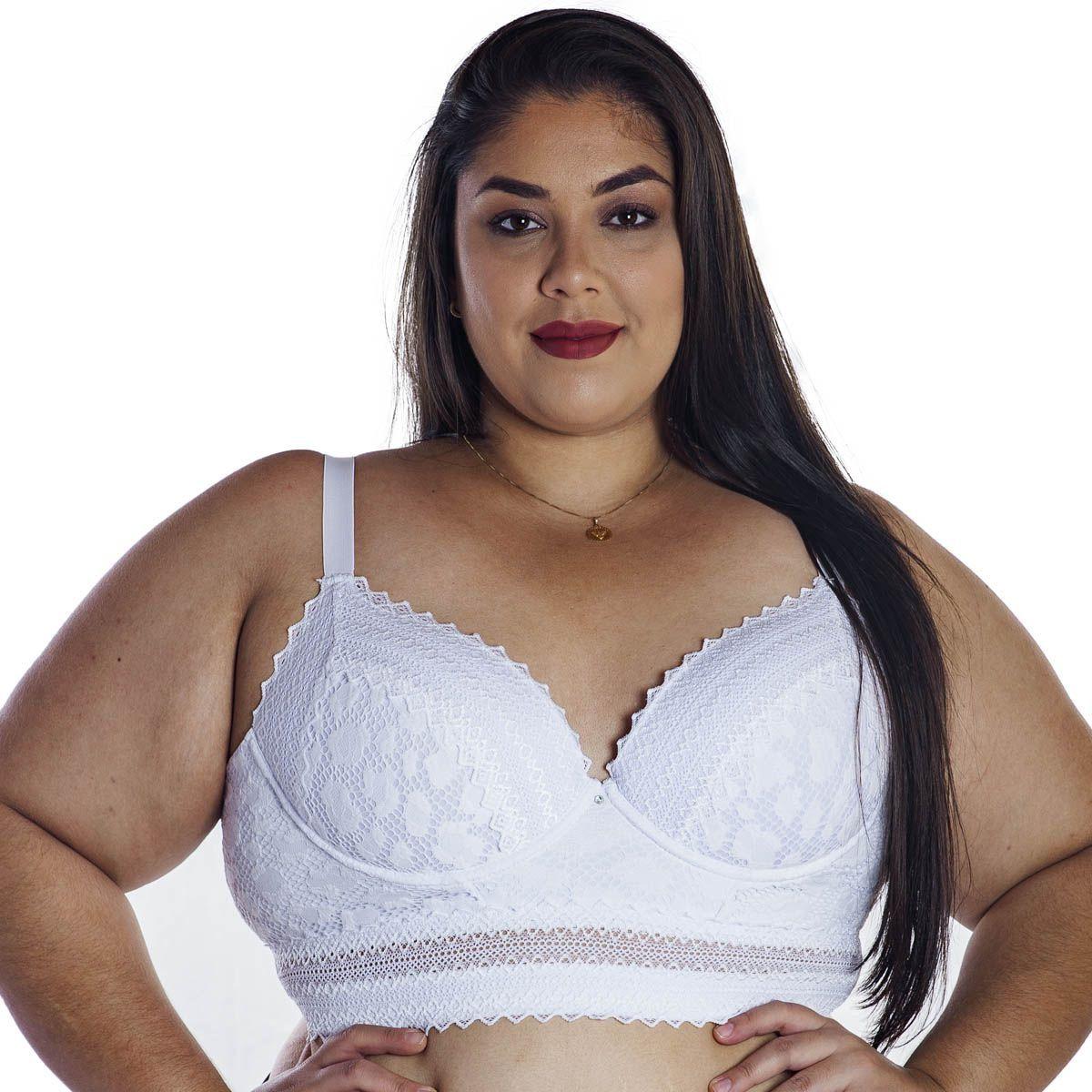 Sutiã Plus Size Corpete Linha Única Nayane Rodrigues