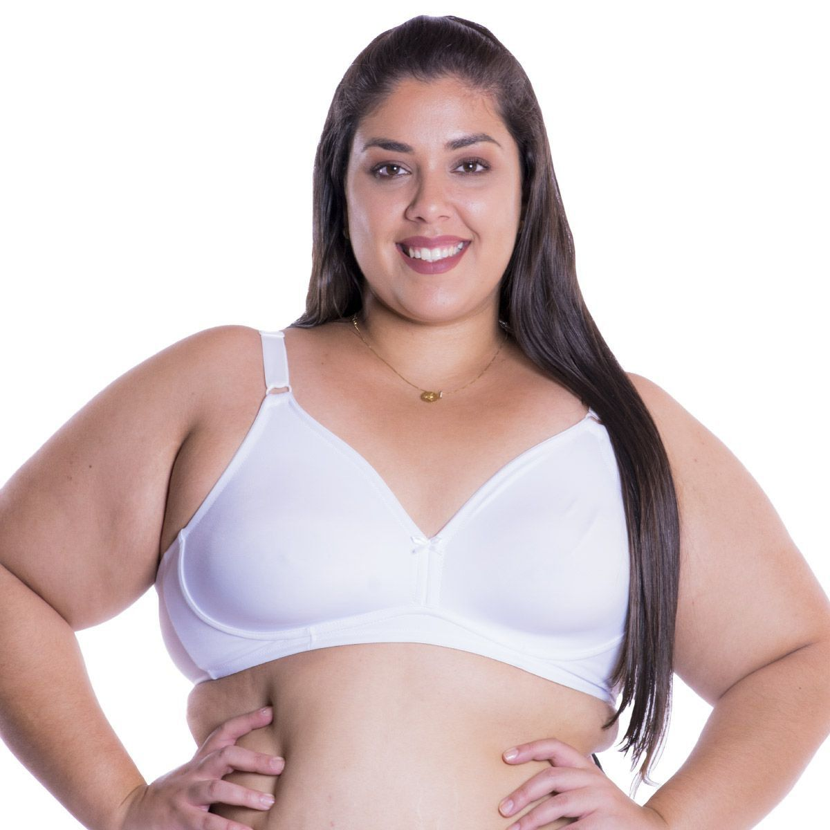 Sutiã Plus Size Nayane Rodrigues Linha Básica Sem Bojo .