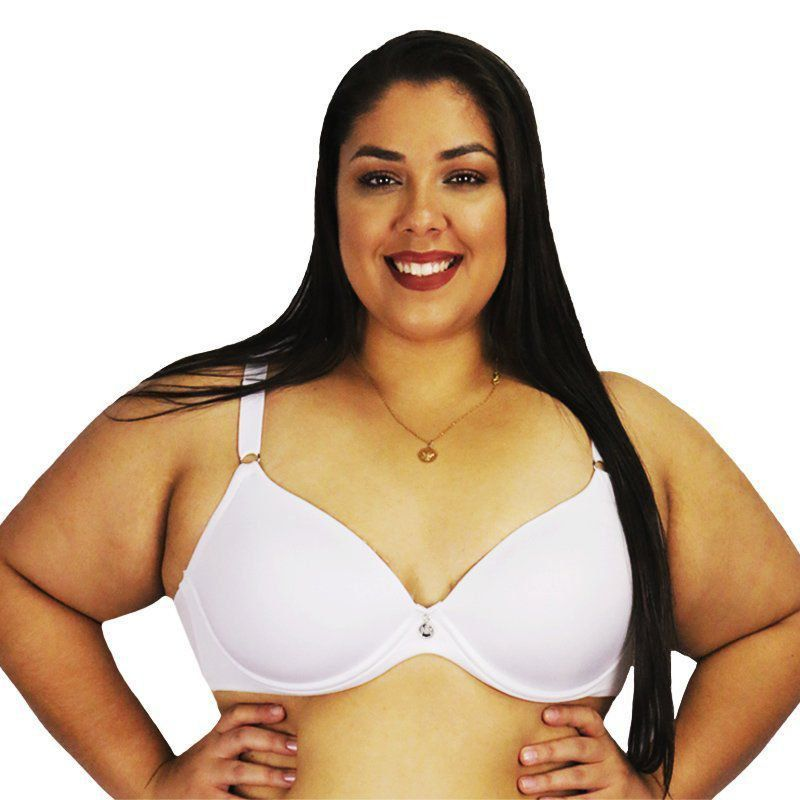Sutiã Plus Size Unica Base Adapt copa C Bojo Flex Nayane Rodrigues
