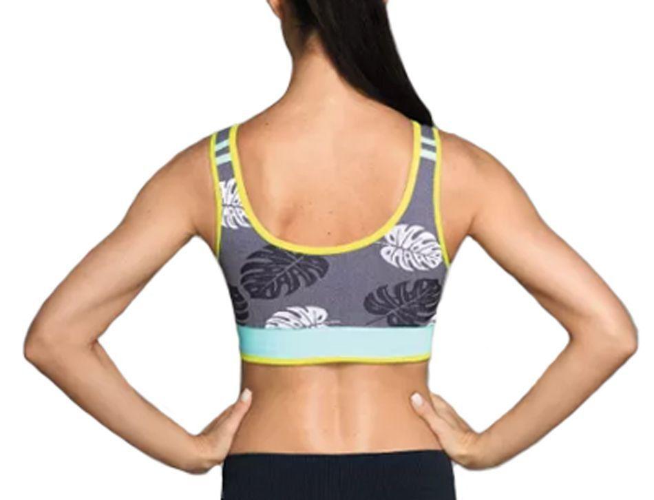 Top nadador fitness ginástica roupa academia suplex feminina Lupo