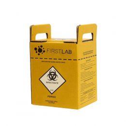 Caixa Coletora de Perfurocortantes 3 litros 20 und./cx. Firstlab