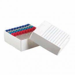 Caixa de Polipropileno para 81 Microtubos de 1,5 a 2,0 ml - 10 und./ cx. Kasvi