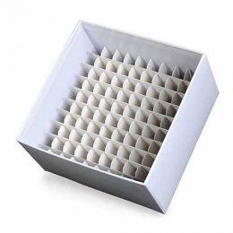 Caixa Fibra de Papelão Para 100 Microtubos 3ml a 5ml Kasvi