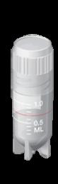 Tubo Criogênico (criotubo) 1,0ml, Estéril, pct 100 unidades, Capp