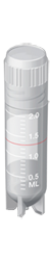 Tubo Criogênico (criotubo) 2,0ml Estéril, Rosca Externa 100 und./pct. Capp ETQ