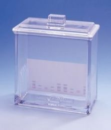 Cuba de vidro para placas TLC  20 x 20 cm Macherey-Nagel (MN)