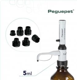 Dispensador Repipetador 0,5-5ml Peguepet