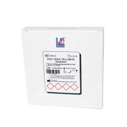Emulsão Telurito Gema de Ovo -  4 Frascos de 50 ml/ cx. Liofilchem