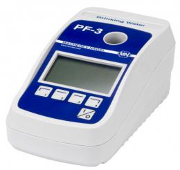 Fotometro Compacto PF3 Versão A P/CLORO, FLUOR E PH com RBC Macherey-Nagel