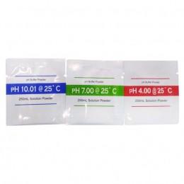 Kit De Tampão Para Calibração De Phmetro - ph 4, 7 e 10 Kasvi