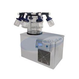 Liofilizador Vertical para frascos (bomba de vácuo duplo estágio) Solab