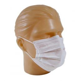 Máscara Cirúrgica Tripla c/ Elástico  50 und./pct. Firstlab