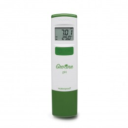 Medidor de pH Groline, à Prova D'água para Hidroponia Hanna