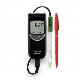 Medidor Portátil de pH em Solo Hanna HM FG