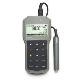 Medidor portátil EC/TDS/ Resistividade/ Salinidade à prova d'água Hanna