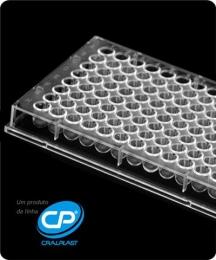 Microplaca de Microtitulação 96 Poços Fundo U, Estéril, Emb. Individual 50 und./pct. Cralplast