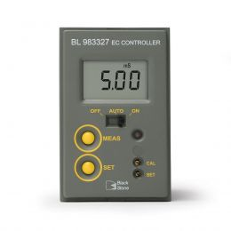 Mini controlador de EC - Faixa 0.00-10.00 ms/cm, alim. 12vcd Hanna
