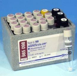 Nanocolor Aluminio 07 0,02-0,70 - 19 Testes/ pct. Macherey-Nagel (MN)