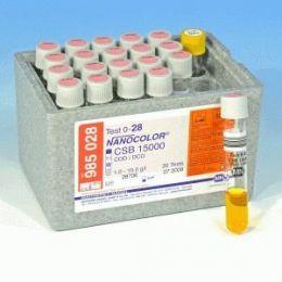 Nanocolor DQO 15000 1-15 - 20 testes/ pct. Macherey-Nagel (MN)