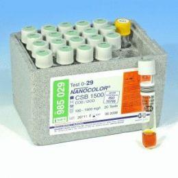 Nanocolor DQO 1500 100-1500 -  20 testes/ pct. Macherey-Nagel (MN)