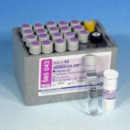 Nanocolor Dureza 20 (Calcio 10-100 Magnesio 5-50) - 20 testes/ pct. Macherey-Nagel (MN)