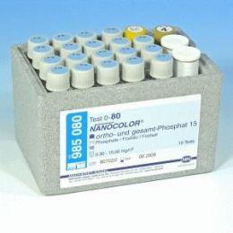 Nanocolor Fosfato 15 (Orto e total) 0,3-45 - 20 testes/ pct. Macherey-Nagel (MN)