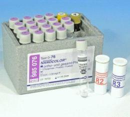Nanocolor Fosfato 1 (Orto e total) 0,01-5 - 20 testes/ pct. Macherey-Nagel (MN)
