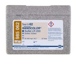 Nanocolor Sulfato LR 200 20-200 - 20 testes/ pct. Macherey-Nagel (MN)
