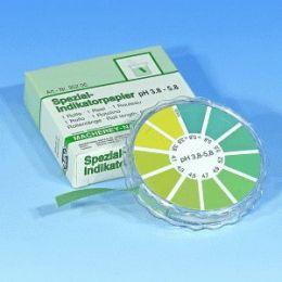 Papel Indicador de pH 3,8 - 5,8  Macherey-Nagel (MN)