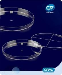 Placa de Petri 140x15mm Estéril 200 und. Cralplast
