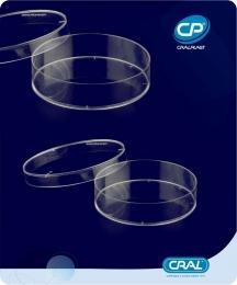 Placa de Petri 60x15mm Estéril 420 und. Cralplast