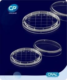 Placa de Petri Rodac PS 560 und. Cralplast