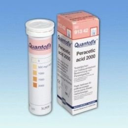 Quantofix Acido Peracetico 500-2000mg/l - 100 tiras/ cx. Macherey-Nagel (MN)