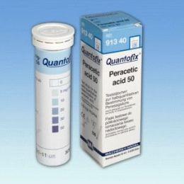 Quantofix Ácido Peracetico 5-50mg/l - 100 tiras/ cx. Macherey-Nagel (MN)