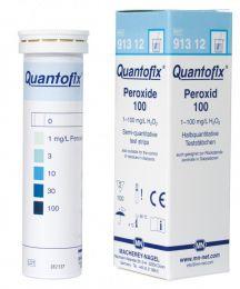 Quantofix Peroxido 0-100mg/l - 100 tiras/ cx. Macherey-Nagel (MN) FR