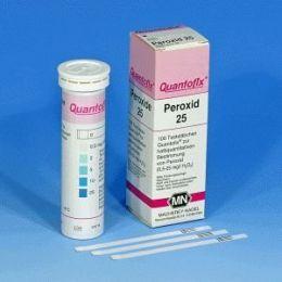 Quantofix Peroxido 0-  25 mg/l - 100 tiras Macherey- Nagel (MN)