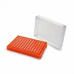 Rack para PCR de 96 poços em Cores Sortidas - 1 und. Kasvi