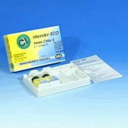 Refil Visocolor Eco Cloro 2 livre 0,1-2 -150 testes/ pct. Macherey-Nagel (MN)
