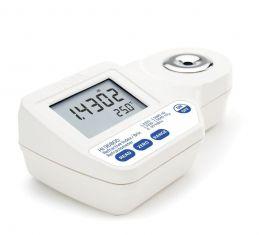 Refratômetro Digital para Índice de Refração e Brix Hanna FG