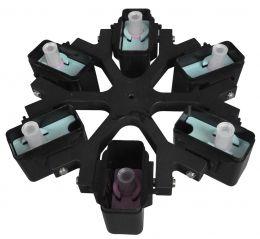 Rotor Basculante para 6 Caçapas 12 Amostras Daiki