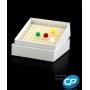 Caixa Fibra de Papelão para 100 Microtubos 1,5ml a 2,0ml Cralplast