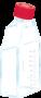 Frasco de cultura de células aderente, 75cm, tampa ventil., com filtro, cx 100 und. sarstedt