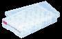Placa de cultura celular sarstedt, aderente, 24 poços, fundo chato emb. indiv. 50 unid.