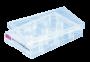 Placa de cultura celular sarstedt, aderente, 6 poços, fundo chato, emb. indiv. 50 und.