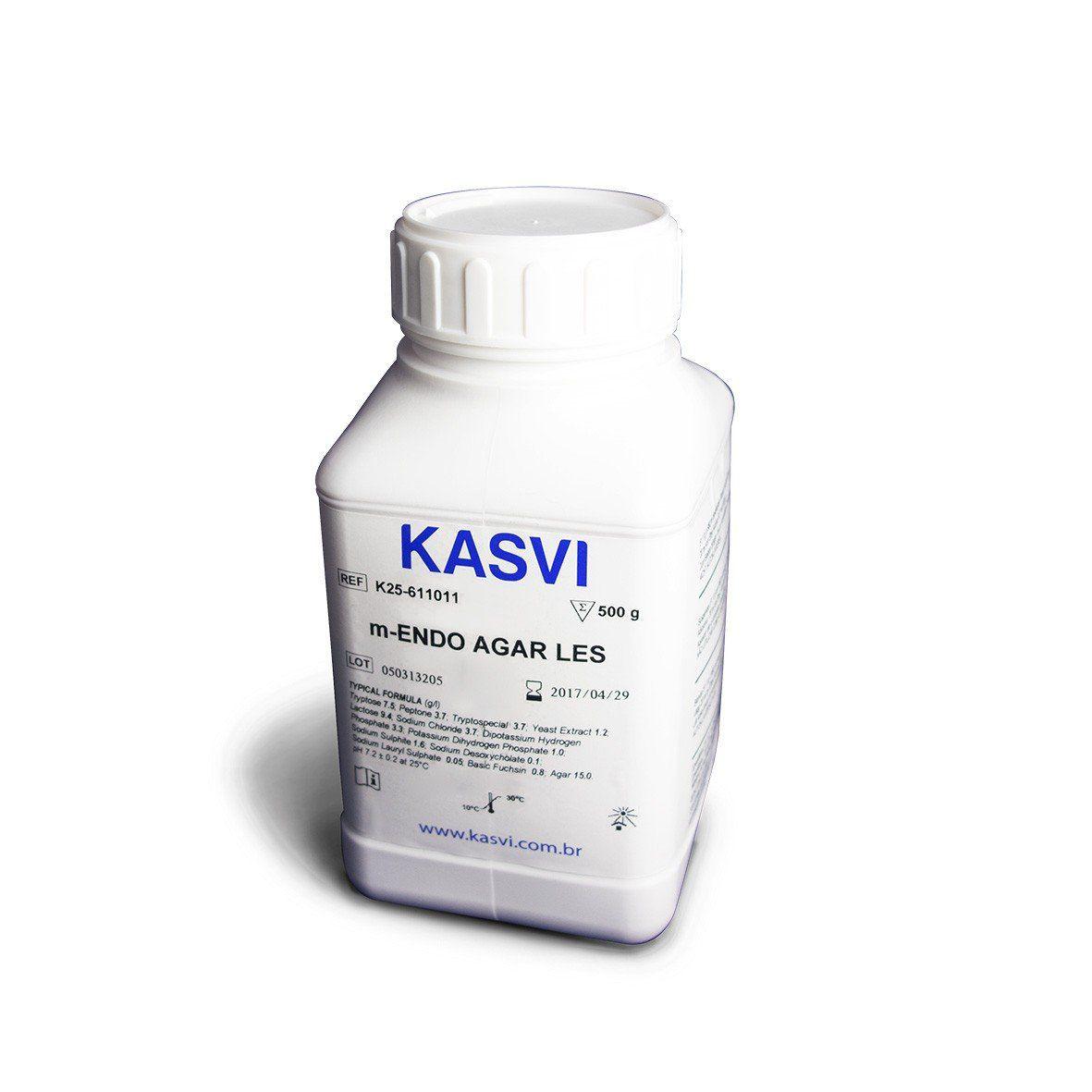 Agar M-ENDO LES 500g/ Frasco Kasvi