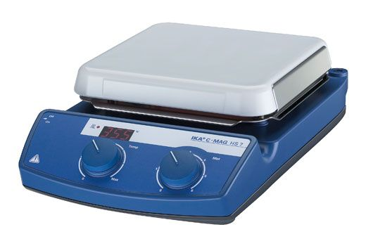Agitador Magnético com Aquecimento C-MAG HS 7 Ika Best Seller ETQ - FRETE GRÁTIS! fg