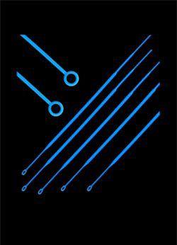 Alça 10 ul descartável estéril cralplast, 50 pcts c/ 10 unidades cada.