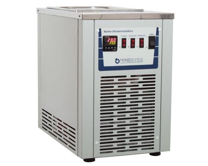 Banho Maria Ultratermostático com Refrigeração Novatecnica